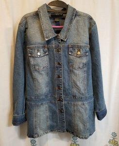 Vintage style venezia Jean denim jacket
